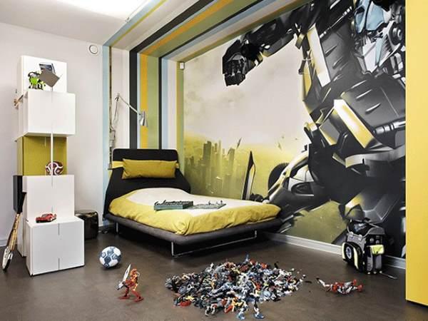 Оригинальная комната для мальчика