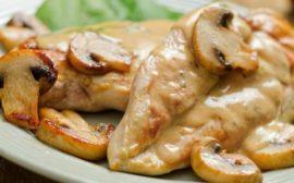 Блюдо из куриного филе