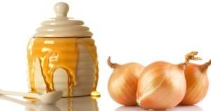 Мед и лук