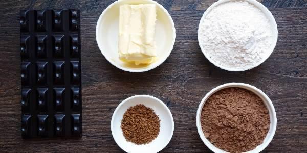 Продукты на шоколадный крем