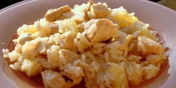 Рис с филе