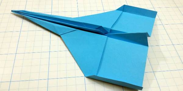 Синий самолетик