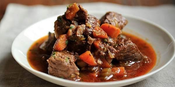 Блюдо из говядины