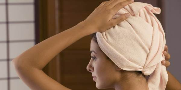 Укутывание волос