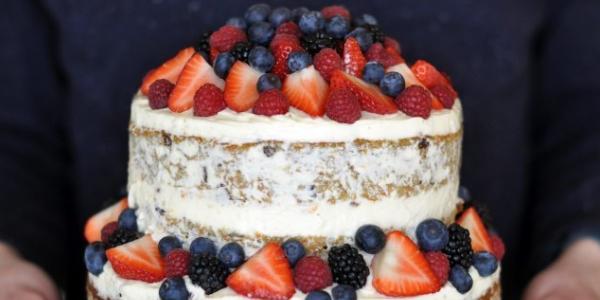 Вариант украшения торта