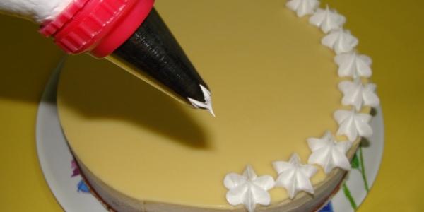 Белковый крем для украшения