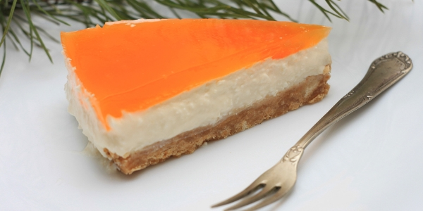 Творожно-мандариновый чизкейк