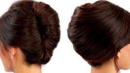 Как собрать волосы