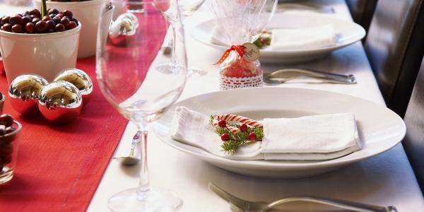 Посуда на новогодний стол