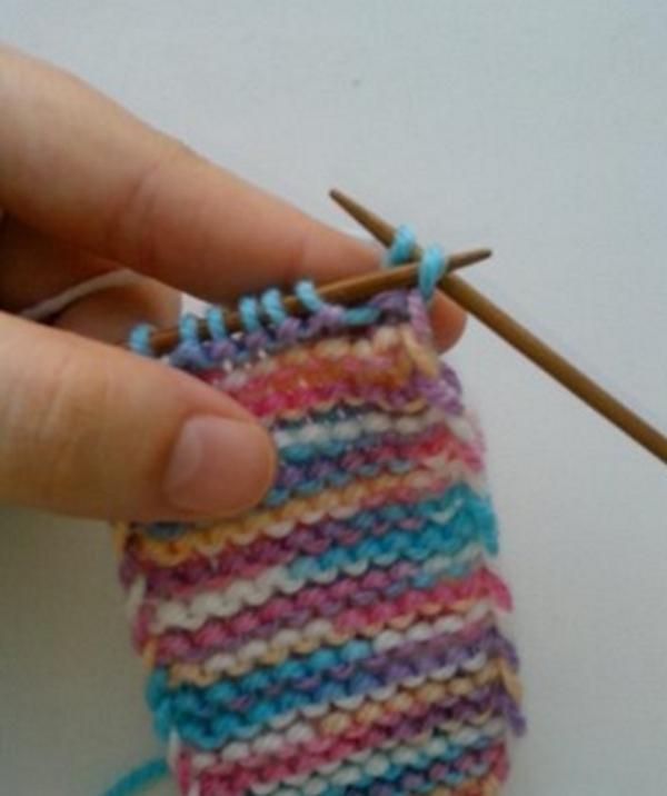 Продолжить вязание