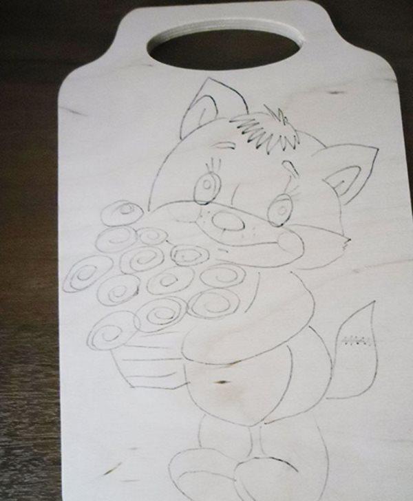 Рисунок котика