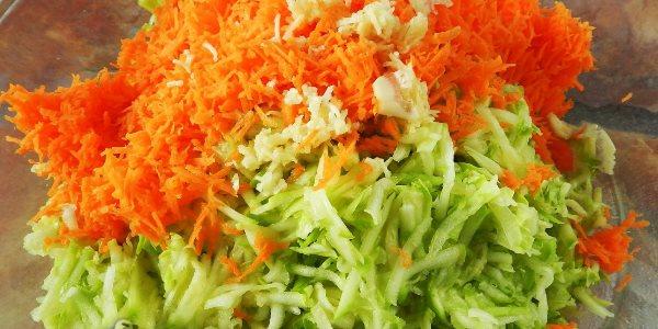 Драники с морковкой