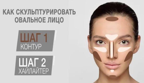 Овальное лицо