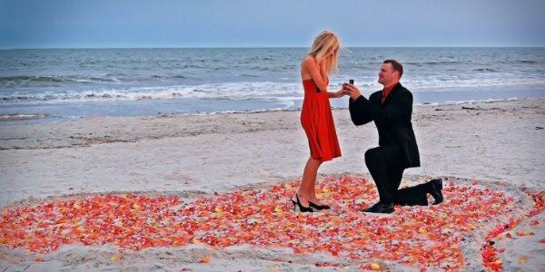 Предложение на пляже