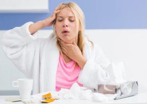 Сухой кашель при простуде