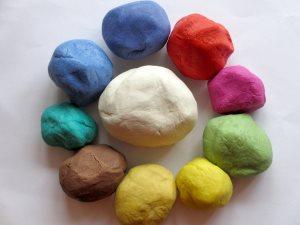 Цветное тесто