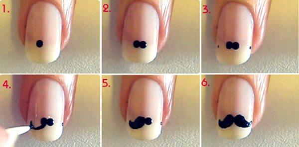 Как сделать простой маникюр