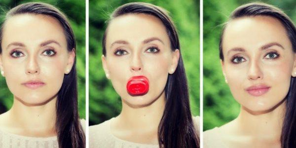 Прибор для увеличения губ