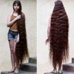 Самые длинные волосы