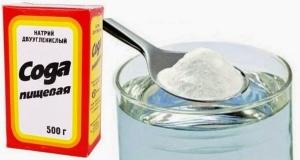 Раствор соды