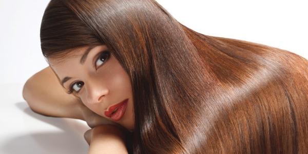 Заламинированные волосы