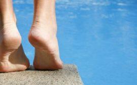 Ноги в жару