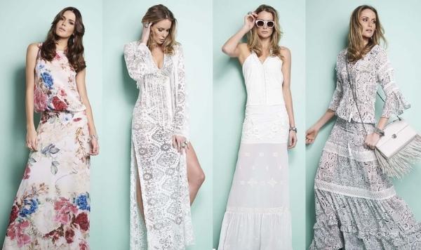 Длинные летние платья
