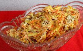 Салат с корейской морковью