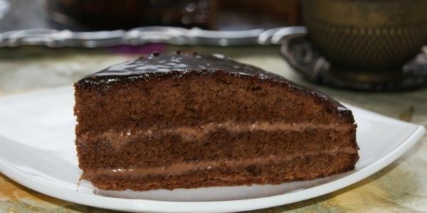Кусок пражского торта