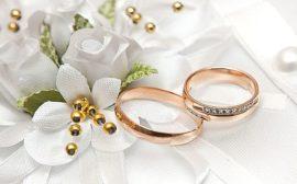 золотые кольца на свадьбу