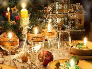подсветка свечами