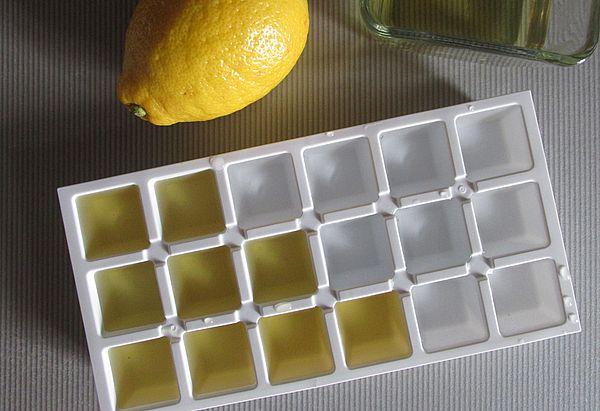 ледяные кубики с медом и лимоном для лица