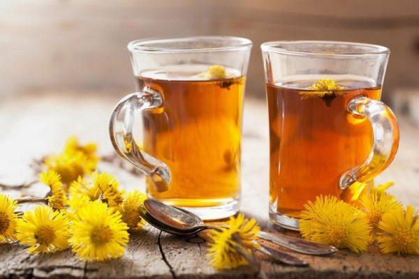 Чай из мать-и-мачехи