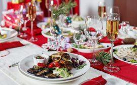 блюдо на новогоднем столе 2019