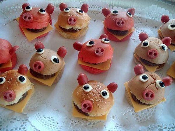 бутерброды в 2019 год Свиньи