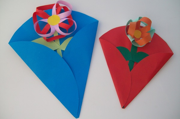 Цветы в пакетах