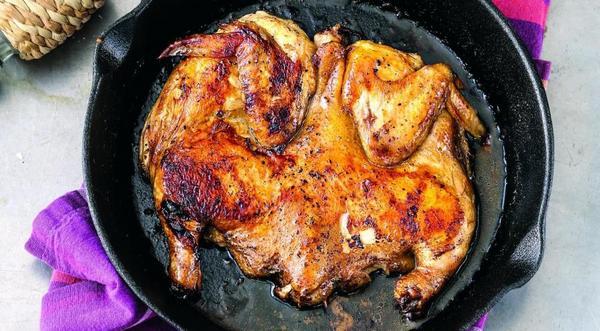 Обжарка курицы на сковроде