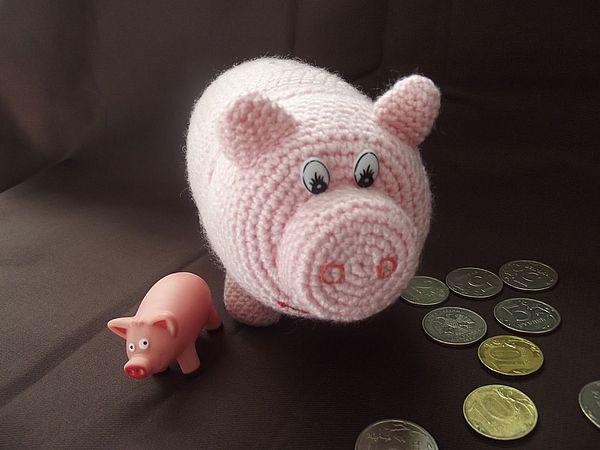 свинка из банки своими руками