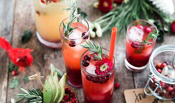 коктейль с клюквенным соком