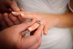 Покупка колец на свадьбу