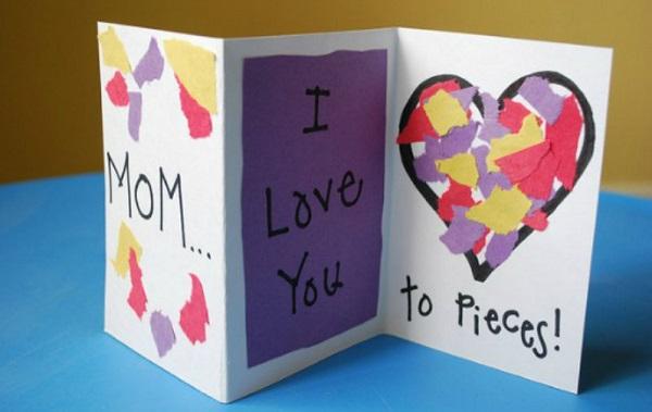 Открытка на День матери
