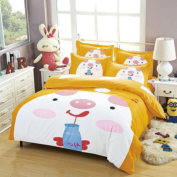 подарок в виде постельного белья