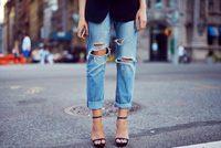 Рваные джинсы своими руками
