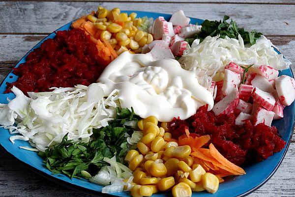 """салат """"Чафан"""" или """"Козел в огороде"""""""
