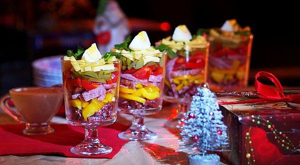 """салат """"Новогоднее ожидание"""""""