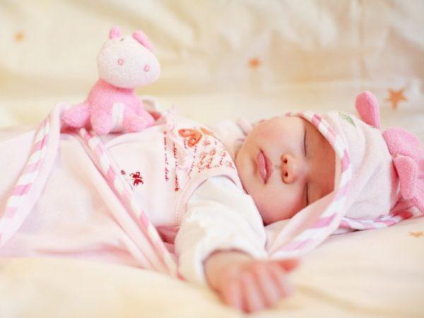 Сон месячного ребенка