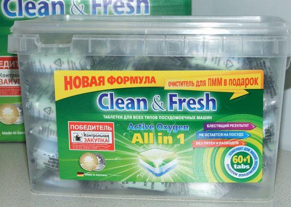 Clean fresh