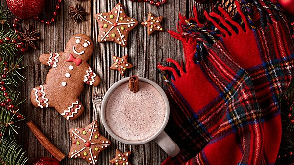 теплый шарф в подарок