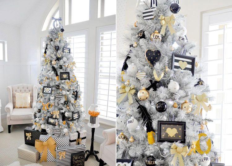 бело-желто-черный дизайн