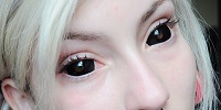Черные линзы для глаз